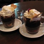 Flüssige Schokolade