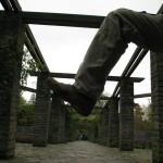 Belfast Bein im Garten?!