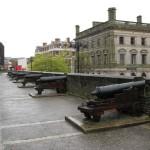 auf der Mauer von Derry