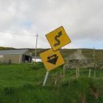 Malin Head - Verkehrszeichen