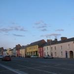 Bunte Straße in Kilrush