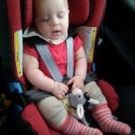 Nickerchen im Auto