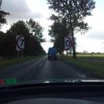Straßenschild(er) in Polen